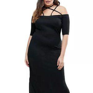 nip Maxi Dress w.Side Slits XL